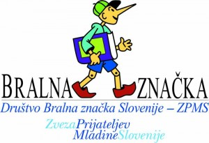 Bralna značka logo
